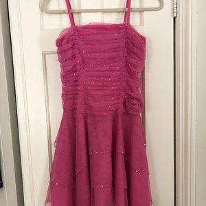 NWOT Mari Lee Teen Pink Sequin Cocktail Dress